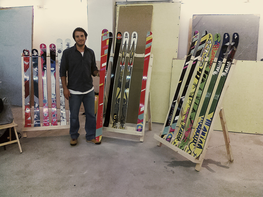 OX skis new collection
