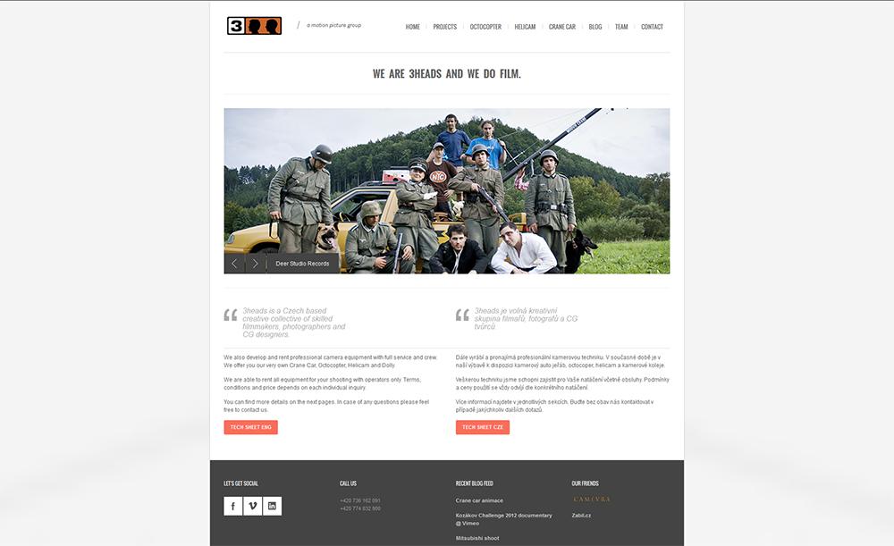 Nový web / New web